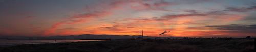 Sun set at the start a New Decade