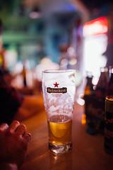 Beer at a nightclub