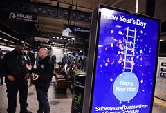 NYC Transit Celebrates New Year's Eve 2019