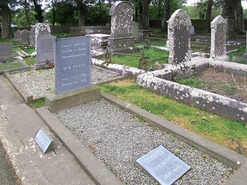 Grave of  WB Yeats