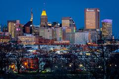 Baltimore at Blue Hour (Again)