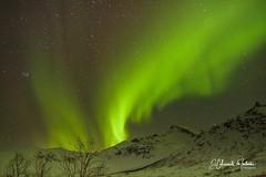 Auroras Boreales en el lago Kattfjordvannet Tromsø Círculo Polar Ártico Noruega  Viaje En Busca de Las Luces del Norte Tromso Marzo 2014 Norte Noruega Pincha el enlace para ver todas las fotos http://elcoleccionistadeinstantes.es/luces-del-norte-tromso-no