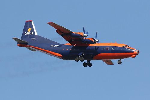 UR-CNN Cavok Air Antonov AN-12BK