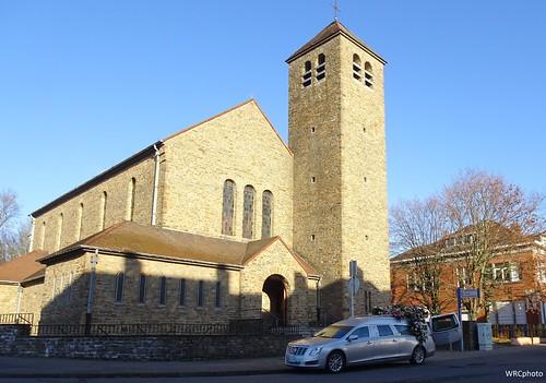 Eglise saint-Ghislain.