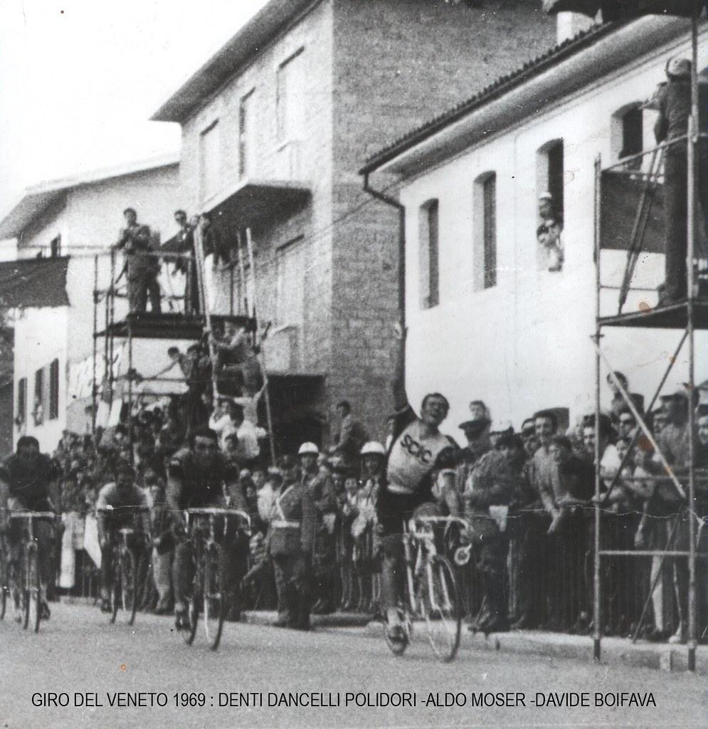 Giro del Veneto 1969 l'arrivo vittorioso di Mino Denti