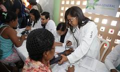 Programa Cuenta Conmigo, del Despacho de la Primera Dama, beneficia 113,000 personas en jornadas médicas durante el 2019