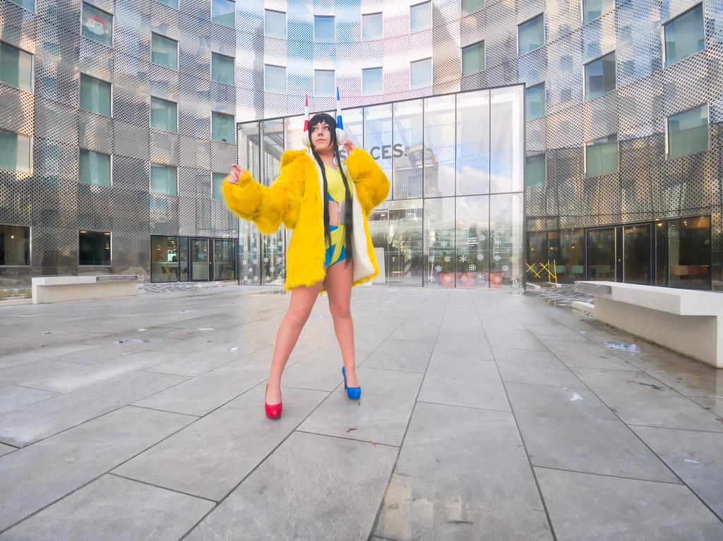 related image - Shooting Inezia - Pokemon - Mandreon - La Défense - Paris -2019-12-14- P1966536