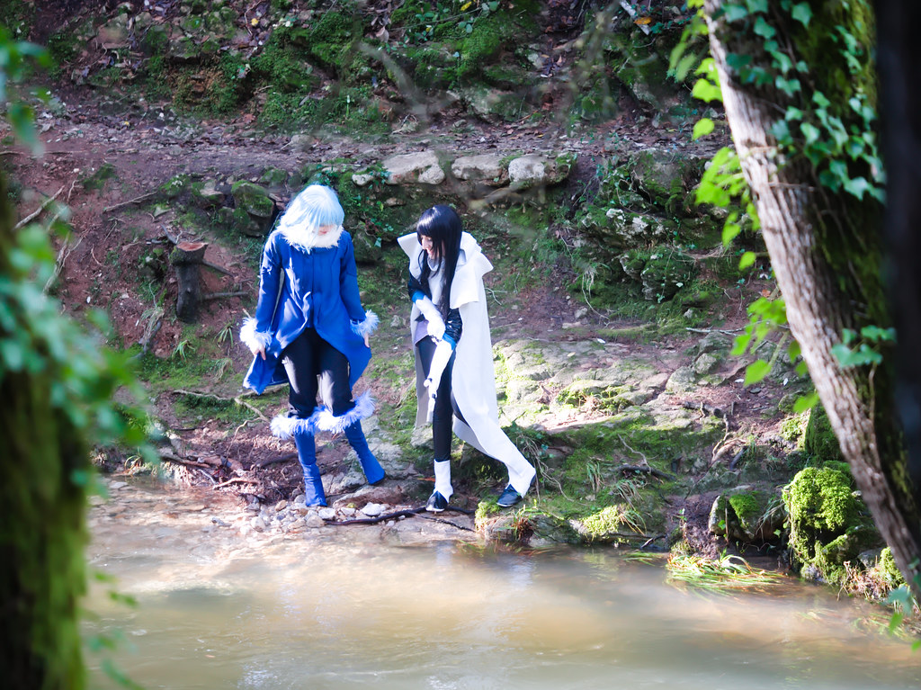 related image - Shooting Tensei Shitara Slime Datta Ken - Limule Tempest & Shizue Izawa - Pont des Tamarins - Biot -2019-12-22- P1977049