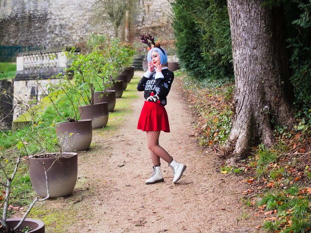 related image - Shooting Re Zero - Rem - Aoi Mitsuki - Parc de Saint Cloud - Paris -2019-12-15- P1966680