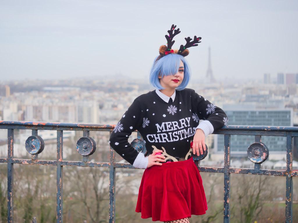 related image - Shooting Re Zero - Rem - Aoi Mitsuki - Parc de Saint Cloud - Paris -2019-12-15- P1966568