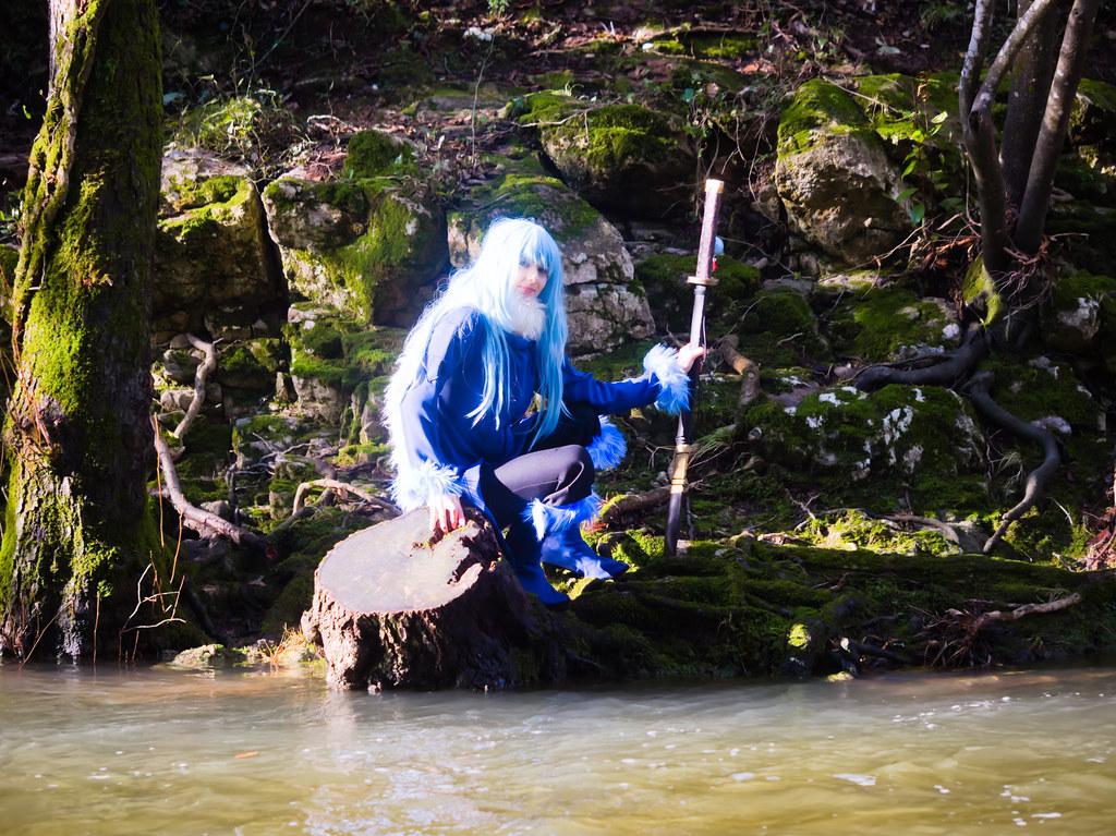 related image - Shooting Tensei Shitara Slime Datta Ken - Limule Tempest & Shizue Izawa - Pont des Tamarins - Biot -2019-12-22- P1977079