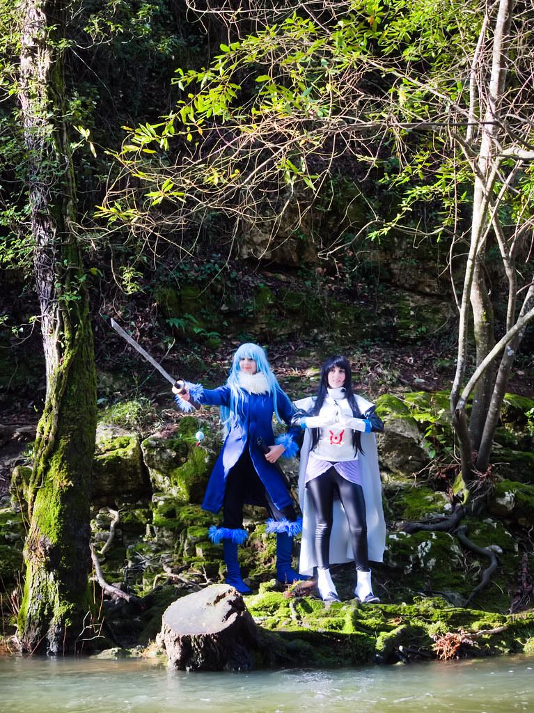 related image - Shooting Tensei Shitara Slime Datta Ken - Limule Tempest & Shizue Izawa - Pont des Tamarins - Biot -2019-12-22- P1977069