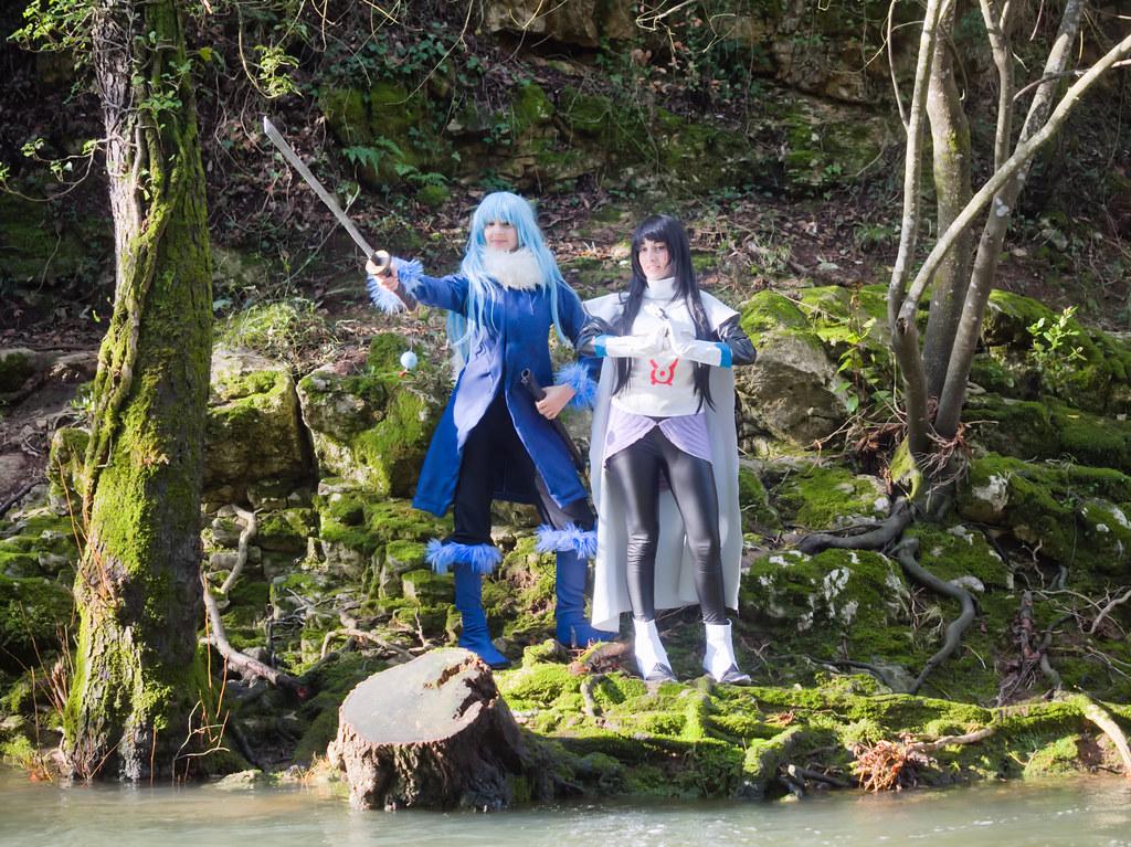 related image - Shooting Tensei Shitara Slime Datta Ken - Limule Tempest & Shizue Izawa - Pont des Tamarins - Biot -2019-12-22- P1977067