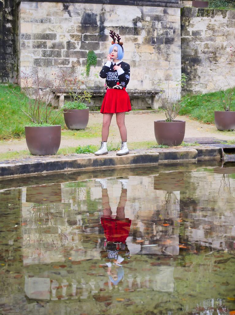 related image - Shooting Re Zero - Rem - Aoi Mitsuki - Parc de Saint Cloud - Paris -2019-12-15- P1966683