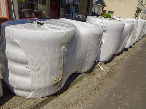 Wrapped Tyres