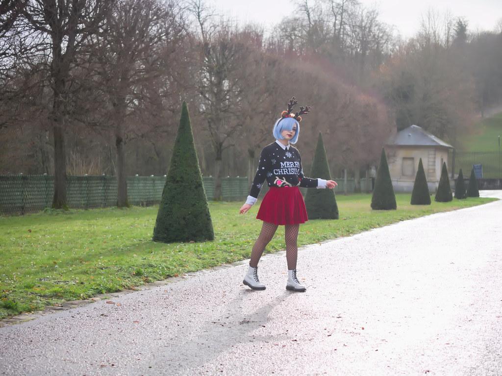 related image - Shooting Re Zero - Rem - Aoi Mitsuki - Parc de Saint Cloud - Paris -2019-12-15- P1966601
