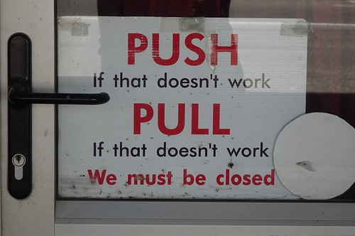 Push and Pull Humour
