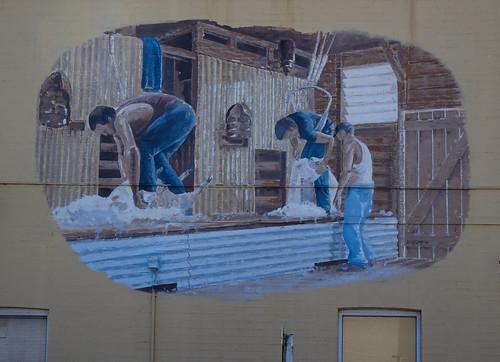 Shearing Mural