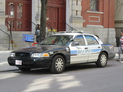 Tufts University Police Ford Crown Victoria