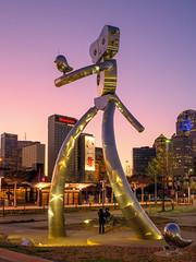 Robot Sunset