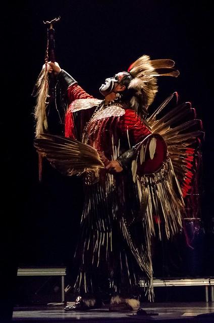 Amérindien accueillant