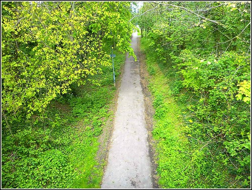Rural Walk and Cycle Track ,