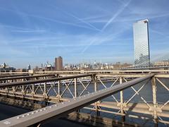 View of MidTown Manhattan from Brooklyn Bridge