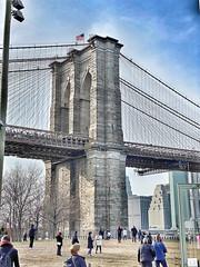 Brooklyn Bridge by foot!
