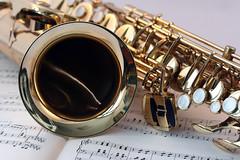 Saxophone Music Gold Gloss Edited 2020