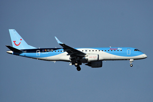 OO-JEM (cn 19000603)Embraer ERJ-190-100STD 190STD Jetairfly (TUI Airlines Belgium)