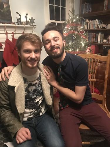 Jose + Tom, New Year dinner