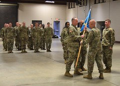 Taking Command of the 4th CST