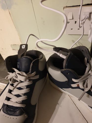 The year we started recharging our shoes