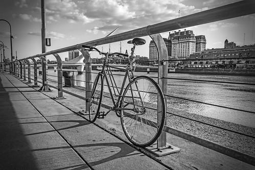 The bike rest