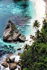 Tropical beach in Nusa Penida, Bali