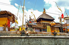 Small home Hindu temples in Bali, Indonesia.