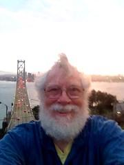 IMG_4075 Yerba Buena Island, Bay Bridge Western Span Selfie.