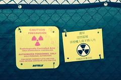 IMG_4020  Radiological area warnings