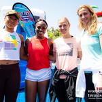 Petra Kvitova, Sloane Stephens, Angelique Kerber, Naomi Osaka