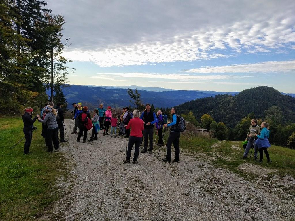 2019-10-26 Hotaveljska grča - Stari vrh - Mladi vrh - Koprivnik