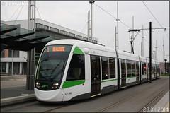 CAF (Construcciónes y Auxiliar de Ferrocarriles) Urbos 3 – Semitan (Société d'Économie MIxte des Transports en commun de l'Agglomération Nantaise) / TAN (Transports en commun de l'Agglomération Nantaise) n°389