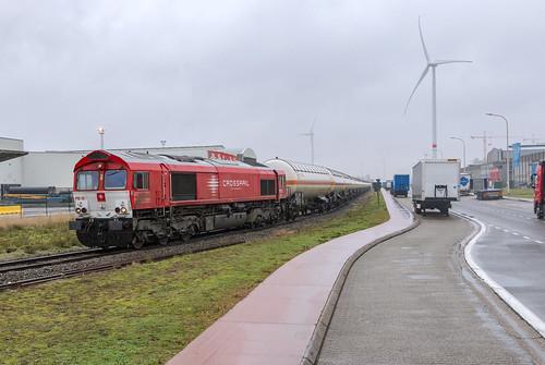 Antwerpen Waaslandhaven, 3 januari 2020 | Crossrail PB12 (266 017)