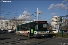 Irisbus Citélis 12 – RATP (Régie Autonome des Transports Parisiens) / STIF (Syndicat des Transports d'Île-de-France) n°5265
