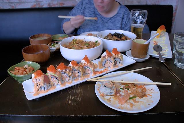 Sushi, 爵士 Jazz Ya Restaurant, 三里屯 Sanlitun