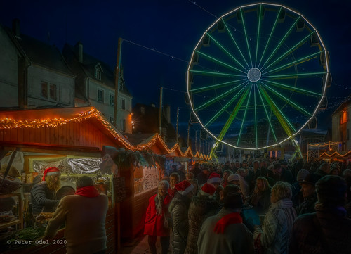 Christmas Market in Dole...
