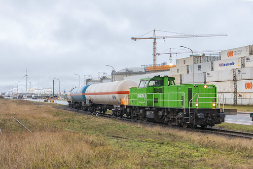 Antwerpen Waaslandhaven, 3 januari 2020 | Railtraxx 6481
