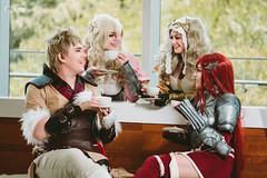 Owain, Maribelle, War Cleric Lissa & Cordelia