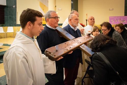 Visita Cruz Lampedusa parroquia Sta. María de la Amargura - 63
