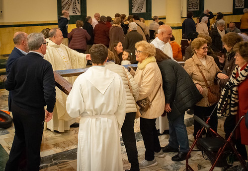 Visita Cruz Lampedusa parroquia Sta. María de la Amargura - 71