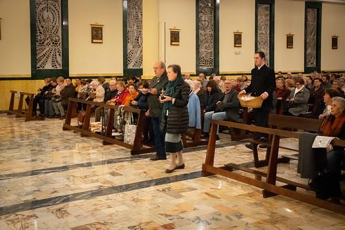 Visita Cruz Lampedusa parroquia Sta. María de la Amargura - 26